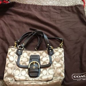 Excellent Conditions Coach cross body HOBO Bag